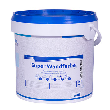 Nordwal superwandfarbe nordwal colour - Atmungsaktive wandfarbe ...